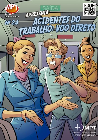 Revista 24 - Acidentes do Trabalho - Voo Direto